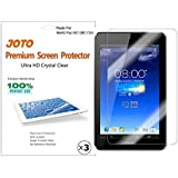 ASUS MeMO Pad HD 7 Screen Protector Film (2013 ASUS ME173X) - JOTO Ultra Crystal Clear (Invisible) Screen Guard for ASUS MeMO Pad HD 7-Inch Tablet