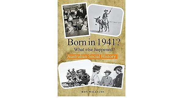 BORN IN 1941? What else happened?: Amazon.es: williams, ron ...