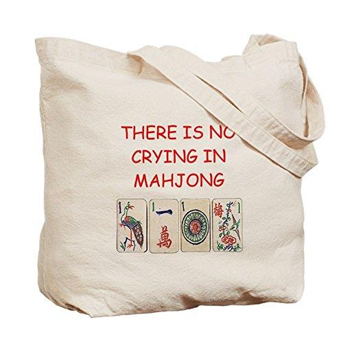 Love Mahjong (CafePress - I Love Mahjong - Natural Canvas Tote Bag, Cloth Shopping Bag)