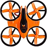 Kids 2.4GHz RC Hexacopter 4CH 6 Axis Gyro Mini RC Drone Quadcopter with Headless Mode / Speed Switch Toy Orange