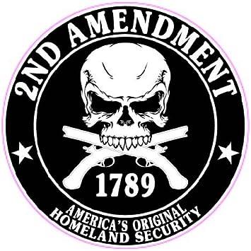 2 ND amendment sticker