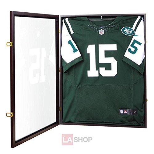 MegaBrand 31x24 Jersey Display Shadow Box Gift Football Baseball Wood