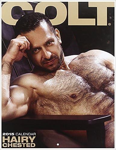 Colt Hairy Chested Calendar Colt Studio Group 9781880777930 Books