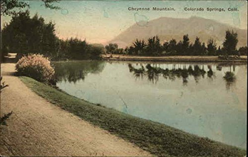 Cheyenne Mountain Colorado Springs, Colorado Original Vintage (Cheyenne Springs)