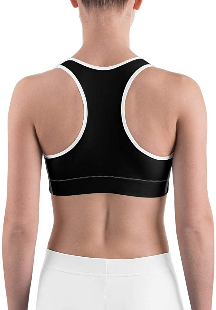 Stretchy Racerback Sports Bras Jungle Fever Bodycon Yoga Bra and Workout Top