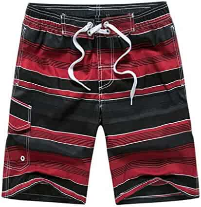 eba31b12798 YOcheerful Men Shorts - Sale Men Quick Dry Beachwear Trunks Bathing Trunks  Beach Surfing Shorts Swimming