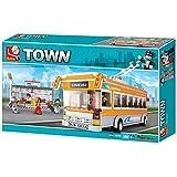 Sluban Lego Trolley Bus, Multi Colour