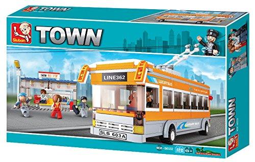 (Sluban Trolley Bus Town Building Kit (457 Pieces))