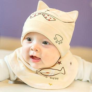 OME&QIUMEI El Bebé Recién Nacido Hat Hat Edad 0-3-6 Meses Bebé Niños ...
