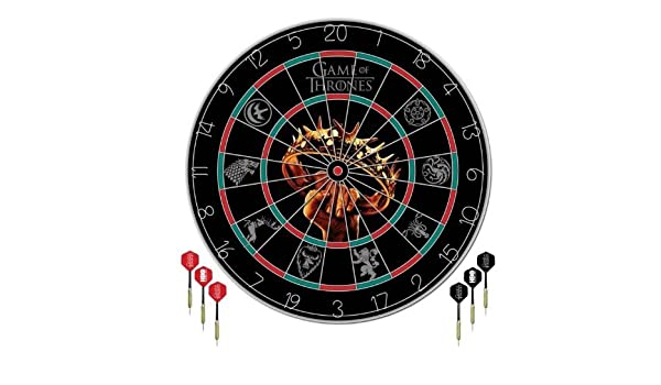 Game Of Thrones Dart Board Set Amazon Ca Sports Outdoors