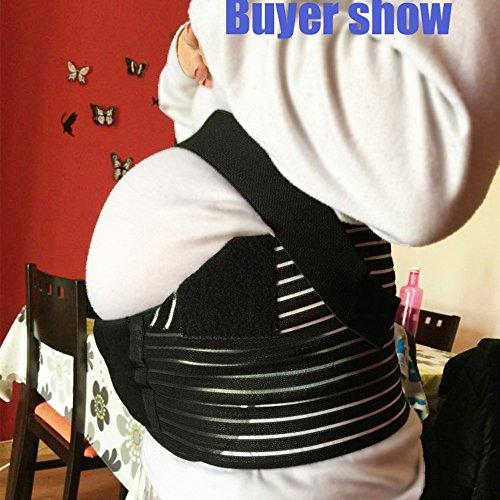 44aa0a5da68 Maternity Belt Waist Abdominal Back Belly Band Pregnancy Belt Support Brace  - Fully Adjustable - Buy Online in UAE.