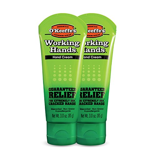 O'Keeffe's Working Hands Hand Cream, 3 ounce Tube, (Pack of 2) (Best Hand Cream For Winter)
