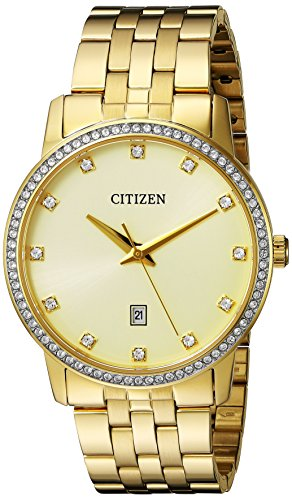 Citizen-BI5032-56P-Quartz-Gold-Tone-Stainless-Steel-Watch-Case