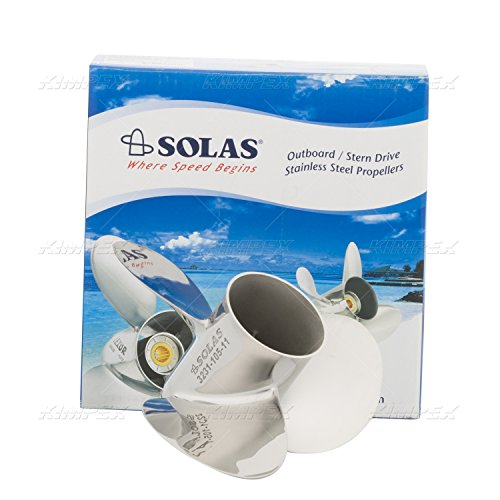 (Solas 3231-105-11; Yamaha Stainless Steel Propeller Made by Solas)