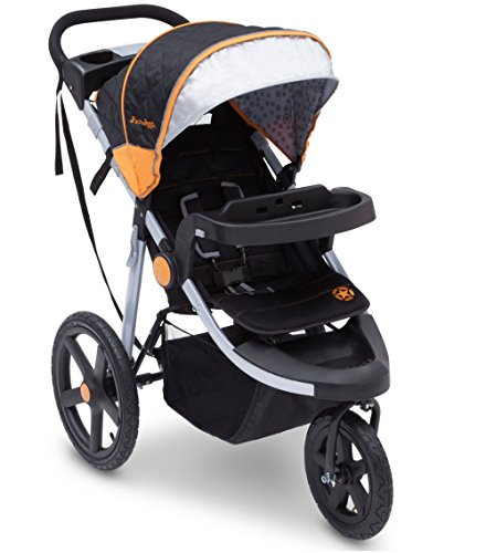 J is for Jeep Brand Cross-Country Sport Plus Jogger (Orange)