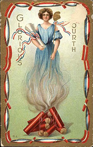 - Glorious Fourth 4th of July Original Vintage Postcard