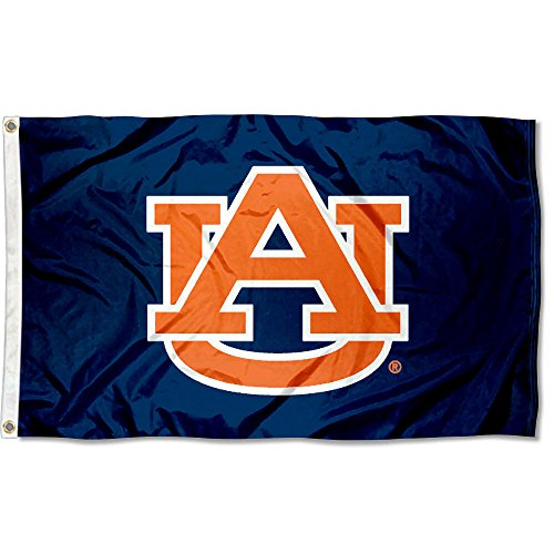 (Auburn Tigers AU University Large College Flag)