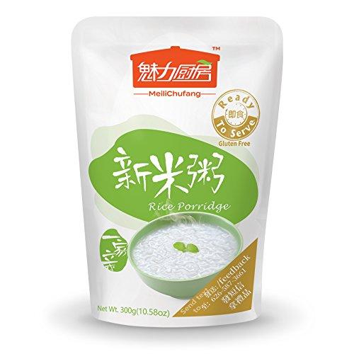 (Tohkin Food USA Ready-to-serve Rice Porridge, Box (300g x 9 pouch))