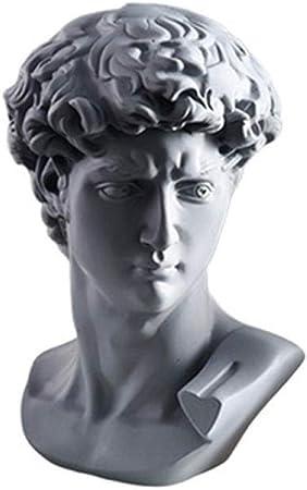 Estatuas para Jardín Estatuas Figuritas Decorativas Cabeza Retratos Artes Escultura Michelangelo Buonarroti Estatuilla Resina Decoraciones Creativas para El Hogar: Amazon.es: Hogar