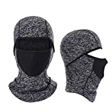 Balaclava Ski Mask- Windproof and Warmer Fleece Cold Weather Face Mask Perfect Performance in Winter for Skiing Snowboarding Motorcycling