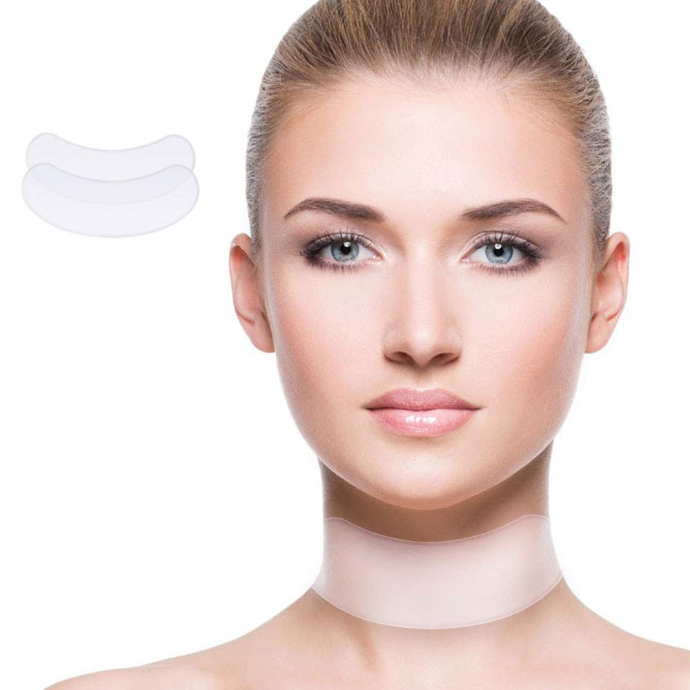 Aoile Silicone Neck Care Pad Anti Wrinkle Nourishing Firming Neck Care Pad