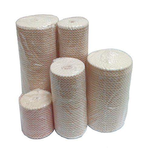 Premium Double Length Elastic Bandages w/Velcro 6