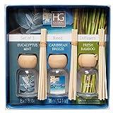 Hosley Premium Grade Set of 3 Reed Diffuser for