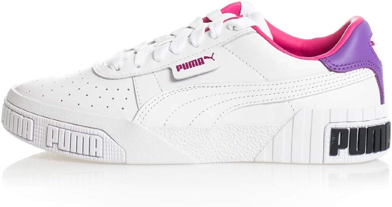 puma cali rosa e bianche