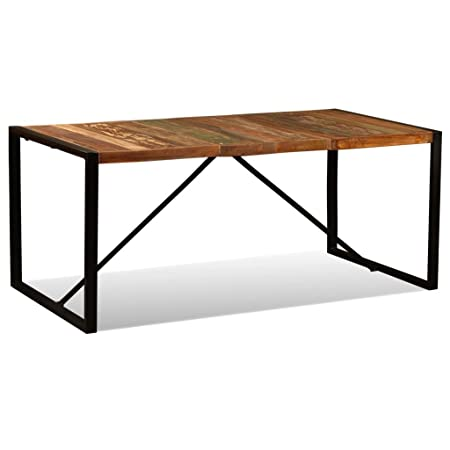 vidaXL Mesa Comedor 180 cm Madera Reciclada Mueble Mobiliario ...