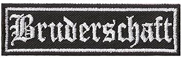 Bruderschaft Rankpatch MC Gremium Brotherhood Biker Aufn/äher Abzeichen