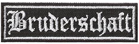 Rankpatch MC Abzeichen Biker Aufn/äher Gremium Brotherhood Bruderschaft