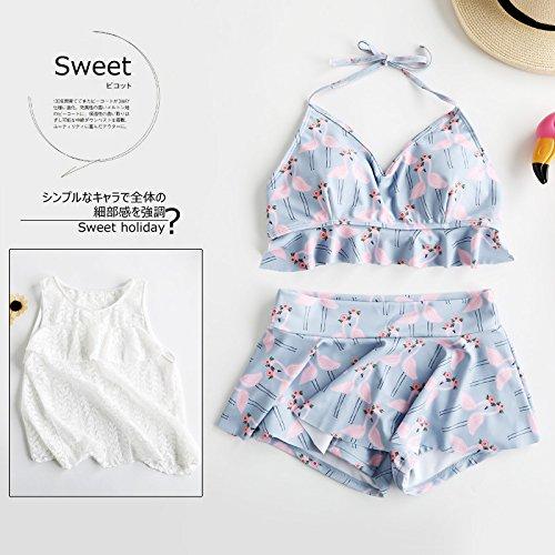 YUPE Hot spring Badeanzug drei Stück fashion Bikini Girl Strand