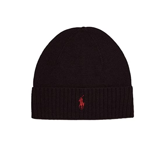 Ralph Lauren Men s Beanie One size - black - One size  Amazon.co.uk ... ba6ac6d61bd