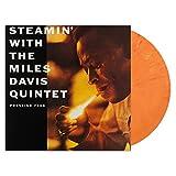Steamin' With The Miles Davis Quintet Orange Swirl Vinyl