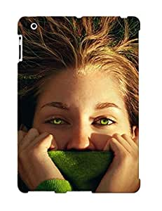 Podiumjiwrp Perfect Green Eyed Girl Case Cover Skin With Appearance For Ipad 2/3/4 Phone Case