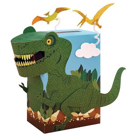 Valentine's Day Mailbox Decorating Kit Dinosaur