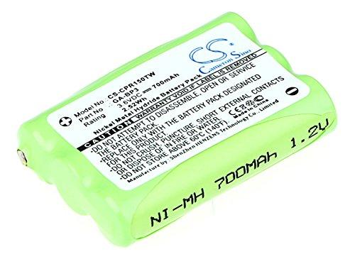 Battery Replacement for Cobra PR145, PR150, PR155 GMRS Part NO GA-BP3