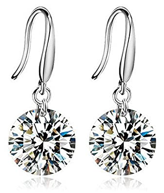 Karatcart Crystal Dangle Earrings For Women/Girls
