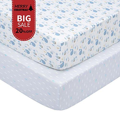 fitted mattress sheet crib - 8