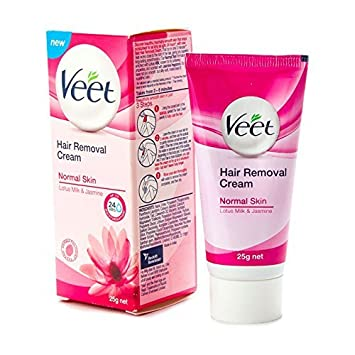 Amazon.com: Veet – Depilación Crema Piel Normal – 25 G: Beauty