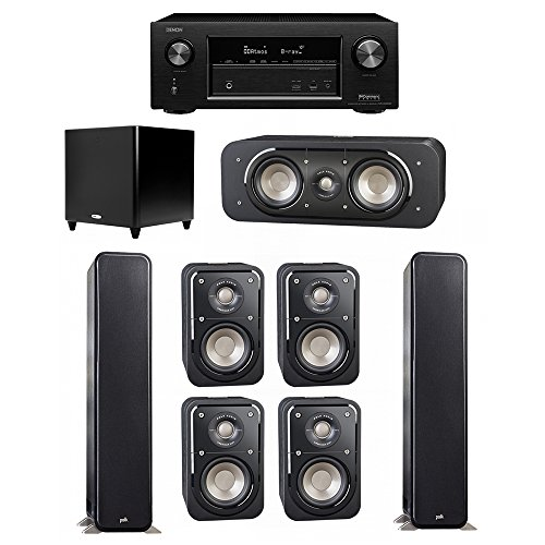 Polk Audio Signature 7.1 System with 2 S55 Tower Speaker, 1