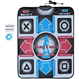Antideslizante Durable resistente al desgaste Baile Step Dance Pad Pad Pad Dancer Blanket Para PC con USB Para culturismo Fitness