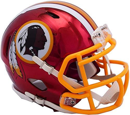 Riddell Washington Redskins Chrome Alternate Speed Mini Football Helmet - NFL Mini ()