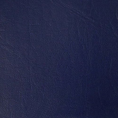 Burlapfabric.com Royal Blue Faux Leather Fabric Upholstery Vinyl 54 Inches Wide Sold by the Yard