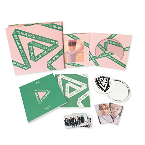 YOU MAKE MY DAY [ FOLLOW Ver. ] - SEVENTEEN 5th Mini Album CD + Photobook + Lenticular card + Photocard + Folded Poster + FREE GIFT / K-POP Sealed