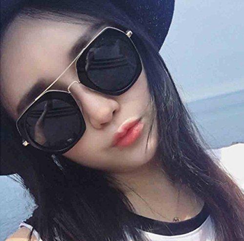 La Sol De Las Mujeres plateado Gafas De Sol Personalidad De De Gafas Poligonales Nueva q5Bwvw