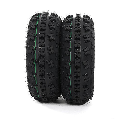 Front Tire Set (2x) 4ply 21X7-10 Sport ATV Tires 21 7 10 21x7x10 Pair by Roadstar (Image #5)