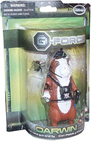 G Force Movie Toy 5 Inch Action Figure Darwin Hand Gun And Fly Figures Amazon Canada