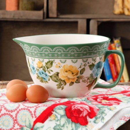 (The Pioneer Woman Rose Shadow 2.83-Quart Batter Bowl)