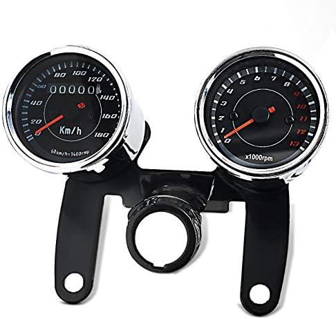 Motorrad Tachometer f/ür Yamaha XV 250//125 Virago VTV Chrom